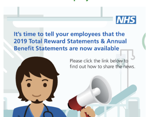 Updated Total Rewards Statements should now be available from the NHS Pensions Agency