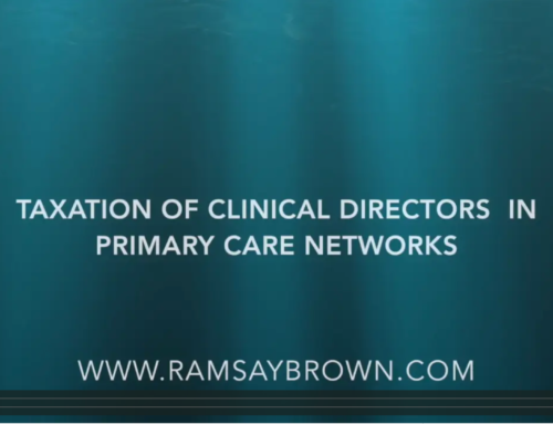 Taxation of Clinical Directors in Primary Care Networks